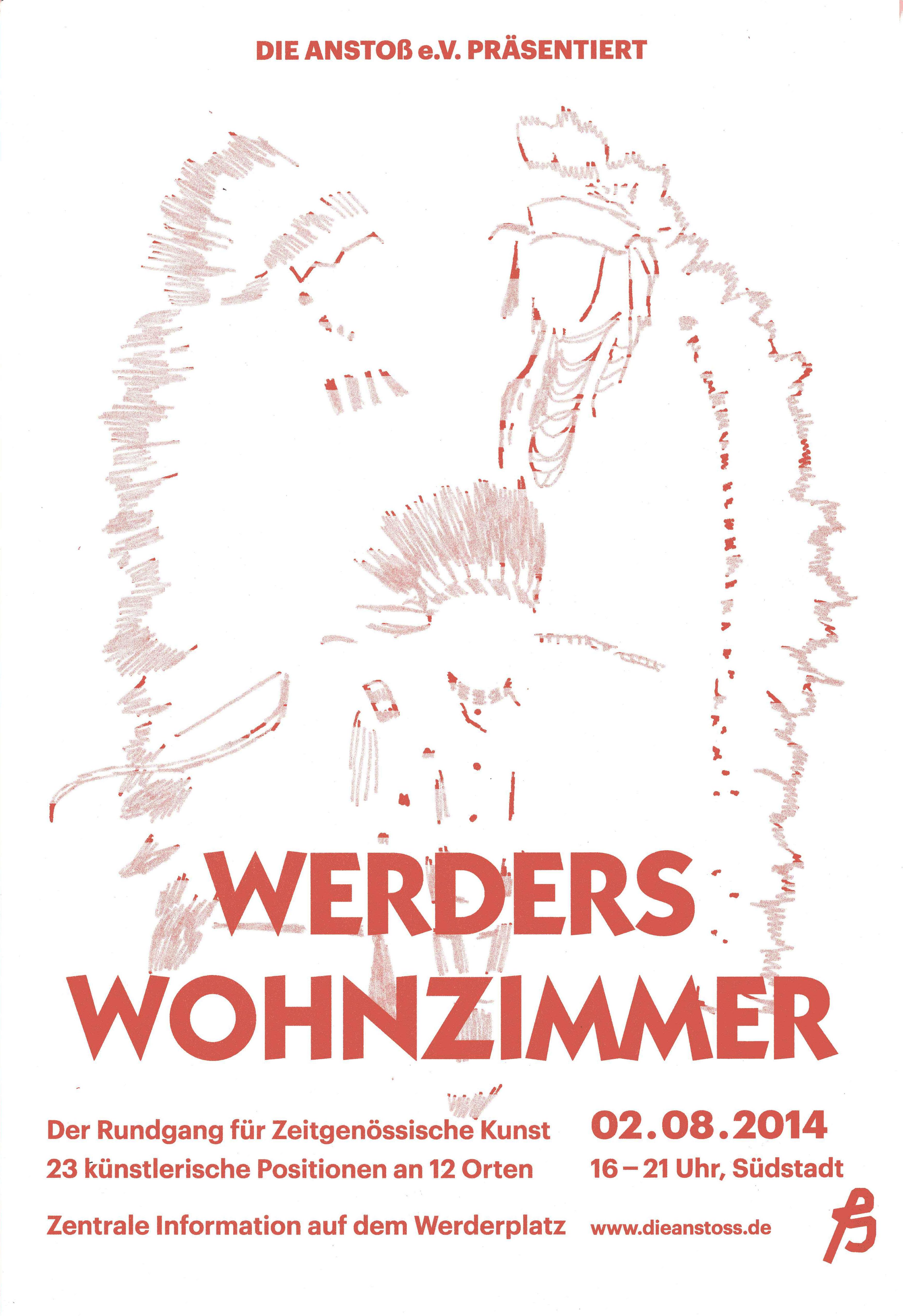 Sdstadt Karlsruhe Werders Wohnzimmer 1 Aug 2014