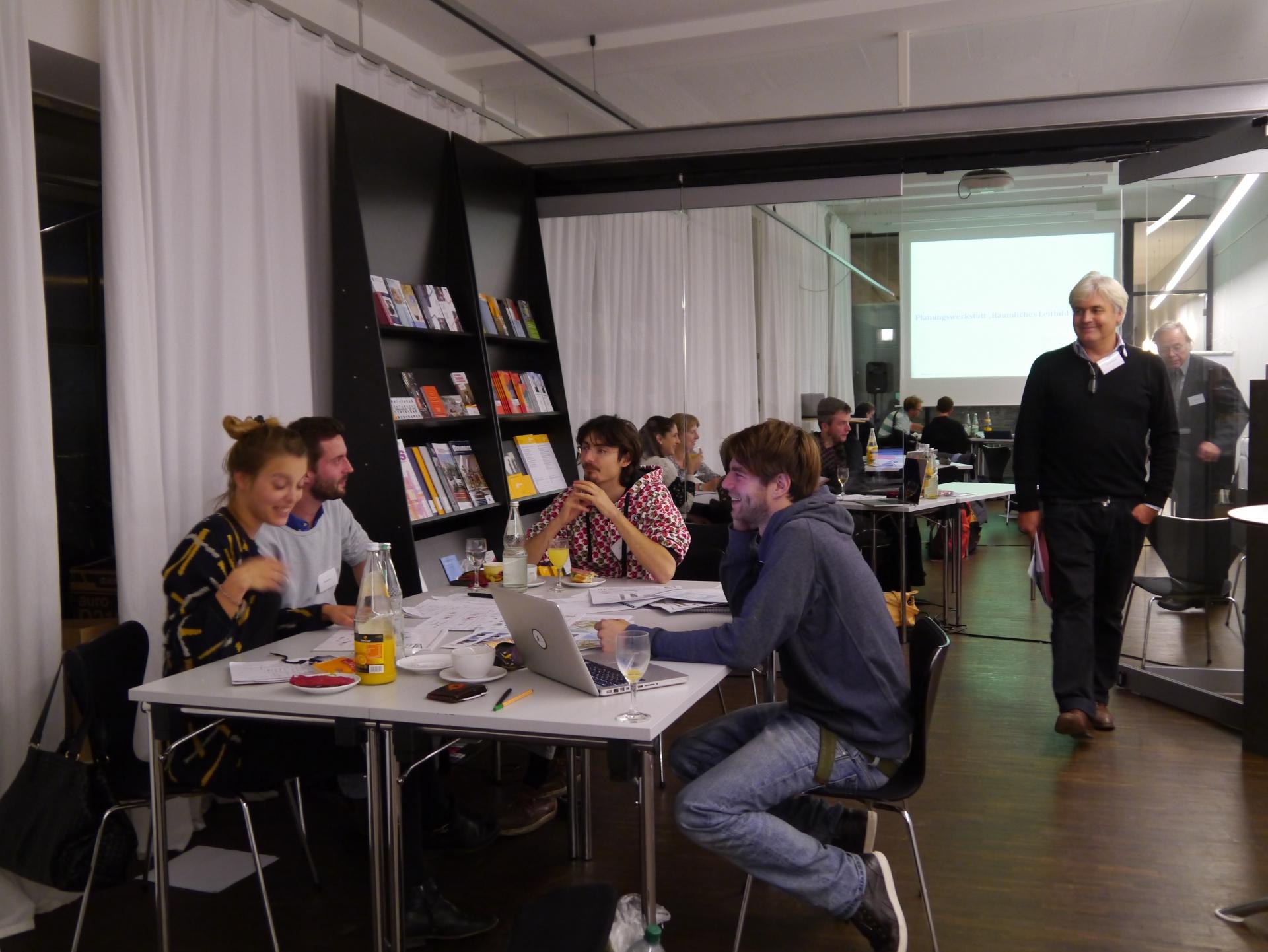 die Anstoß e.V. Workshop: Räumliches Leitbild