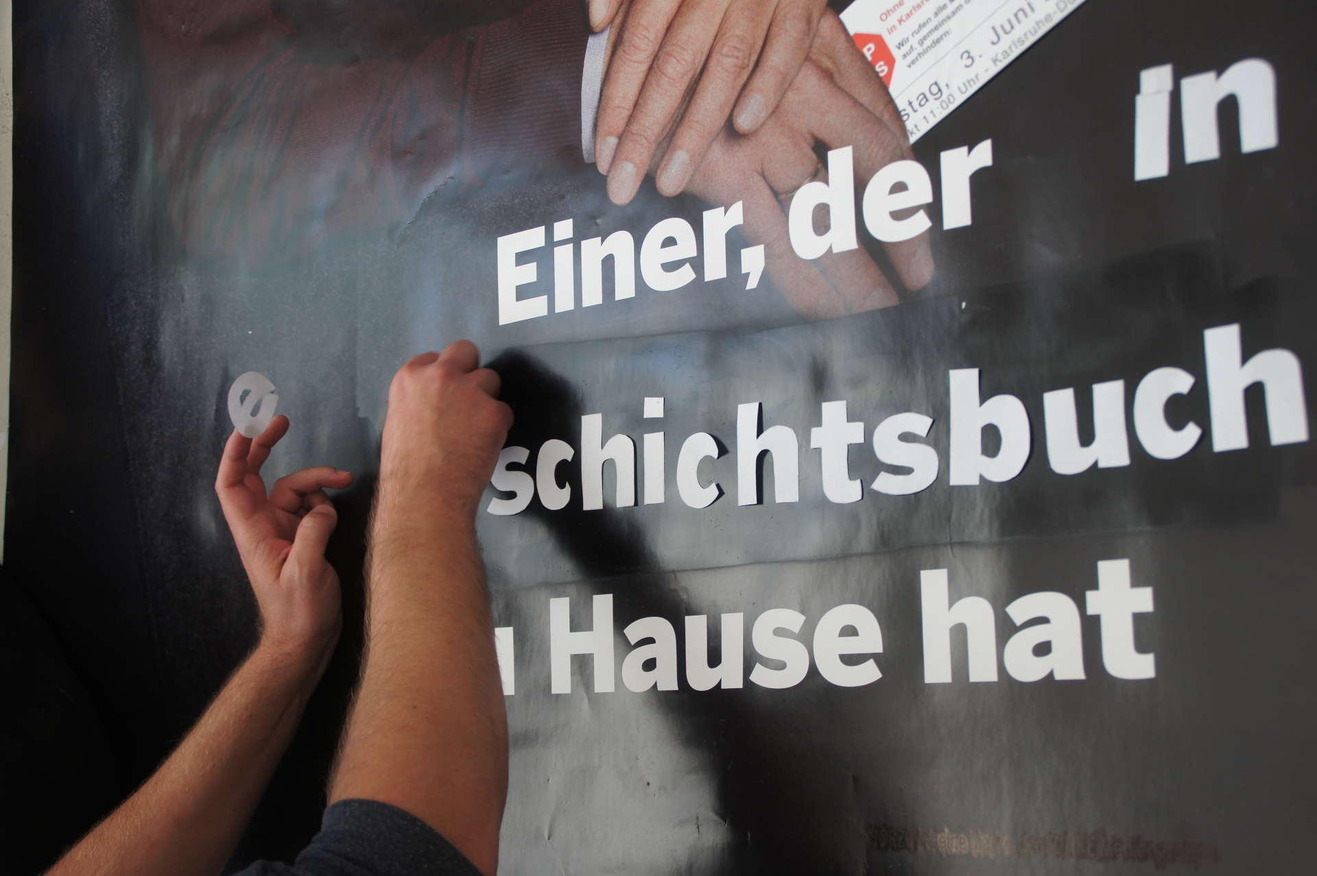 die Anstoß e.V. AdBusting Workshop