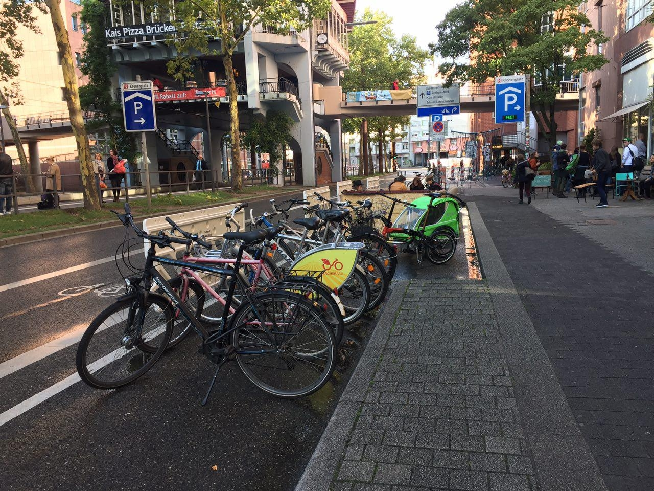 die Anstoß e.V. Parking Day 2017